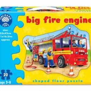 Puzzle de podea - masina de pompieri-0
