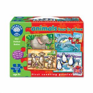 Lumea animalelor - set 4 puzzle-0