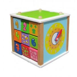 Cub educational 5-in-1 - dimensiune mare-2235