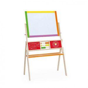 Sevalet cu tabla alba si neagra reversibila-0