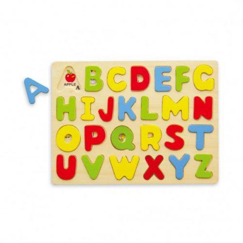 Puzzle ABC - puzzle cu literele alfabetului (in limba engleza)-0