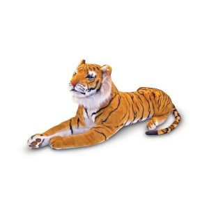 Tigru gigant din plus Melissa and Doug-0