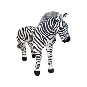 Zebra gigant din plus Melissa and Doug-0