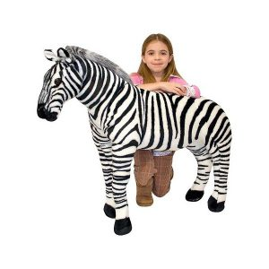 Zebra gigant din plus Melissa and Doug-2007