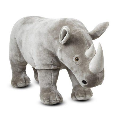 Rinocer gigant din plus - Melissa and Doug-0