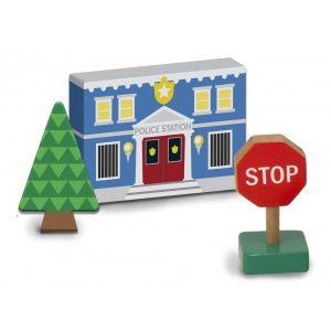 Figurine din lemn Orasul meu - Melissa and Doug-2032