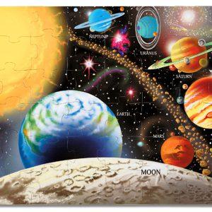 Puzzle de podea Sistemul Solar Melissa and Doug-0