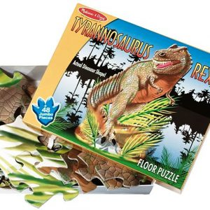 Puzzle de podea T-Rex Melissa and Doug-0