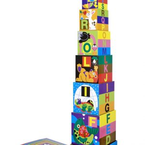Piramida Alfabet Melissa and Doug-0
