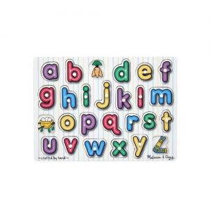 Puzzle lemn Alfabet Melissa and Doug-0