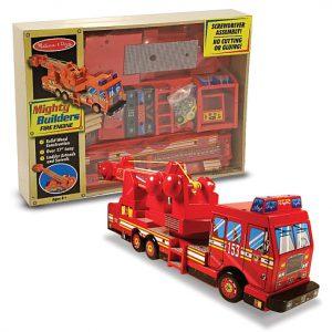 Construieste o masina de pompieri Melissa and Doug-0