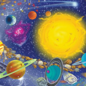Puzzle Sistemul Solar Melissa and Doug 100 piese-0