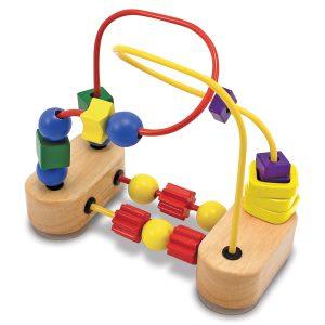 Roller-coaster cu margele Melissa and Doug-0