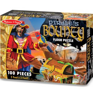 Puzzle de podea Comoara piratilor Melissa and Doug-0