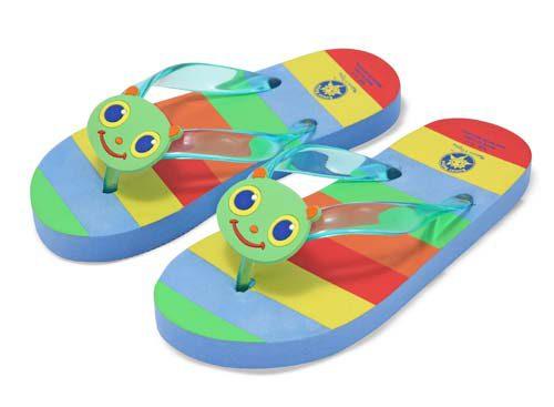 Papuci de baie sau plaja copii Happy Giddy Melissa and Doug mas 26-28-0