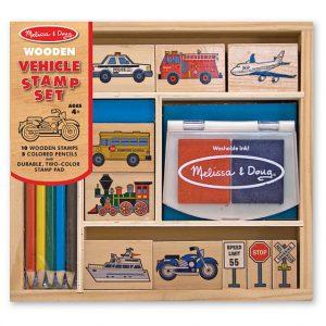 Set de stampile Vehicule Melissa and Doug-0