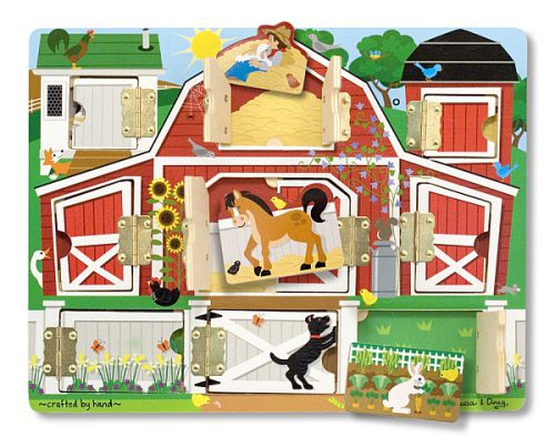 Puzzle magnetic ascunde si descopera Melissa and Doug-0
