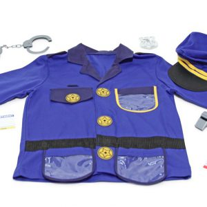 Costum carnaval copii Ofiter de Politie Melissa and Doug-0