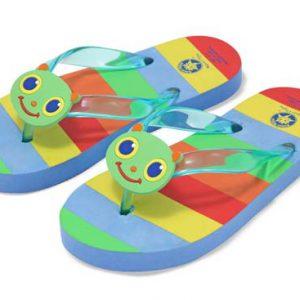 Papuci de baie sau plaja copii Happy Giddy Melissa and Doug mas 29-31-0