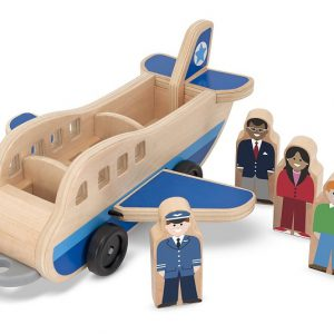 Set de joaca din lemn Aeroport Melissa and Doug-0