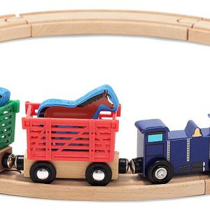 Trenuletul animalelor Melissa and Doug-0