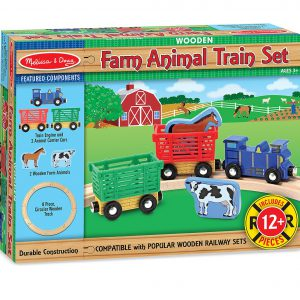 Trenuletul animalelor Melissa and Doug-1268
