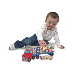 Camionul Alfabet Melissa and Doug-0