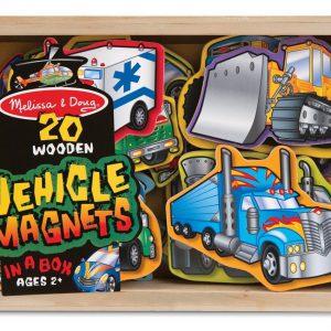 Vehicule cu magneti Melissa and Doug-0
