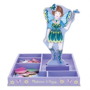 Set magnetic Sa imbracam zana Melissa and Doug-0