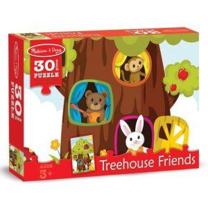 Puzzle Casuta din copac Melissa and Doug 30 piese-0