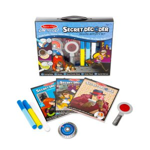 Set Decodorul de secrete Melissa and Doug-0