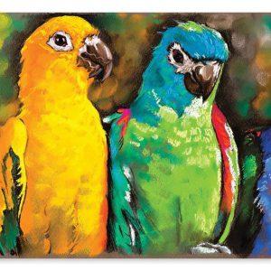 Puzzle 1000 piese Papagali curcubeu - Melissa and Doug-0