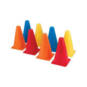 Set 8 conuri din plastic-0