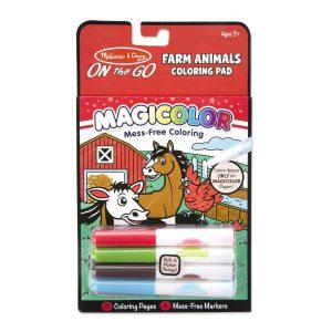 Carnetel de colorat Magicolor Animale de la ferma-0