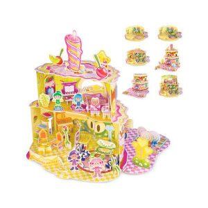 Puzzle 3D Casa, dulce casa-0