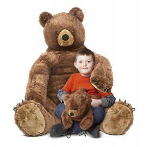 Urs brun cu pui din plus Melissa and Doug-1949