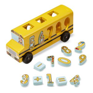 Autobuzul cu numere Melissa and Doug-0