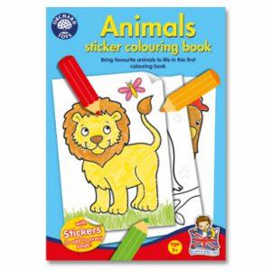 Carte de colorat - Animalele-0