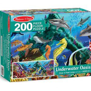 Puzzle 200 piese Adancurile marii - Melissa and Doug-0
