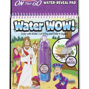 Carnet de colorat Apa Magica cu Povesti din Biblie - Melissa and Doug-0