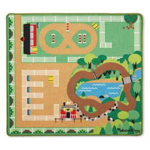 Covor de joaca Ferma calutilor - Melissa and Doug-0