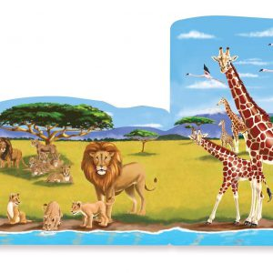 Set 4 puzzle podea conectabile Safari-2503