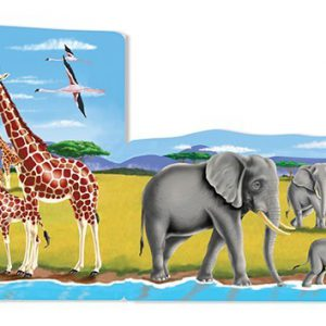 Set 4 puzzle podea conectabile Safari-2504