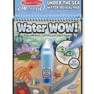 Carnet de colorat cu Apa magica Oceanul-0