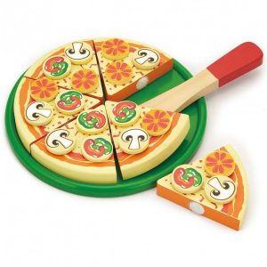 Pizza cu diverse toppings-0