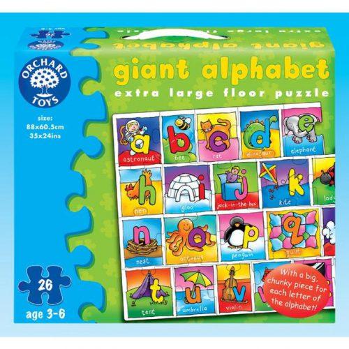 Puzzle Alfabetul gigant-0