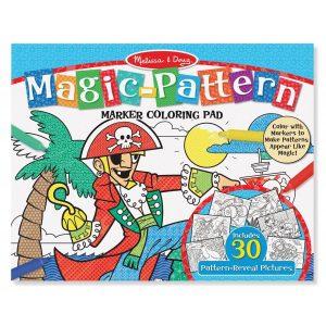 Bloc de colorat modele magice Albastru - Melissa and Doug-0