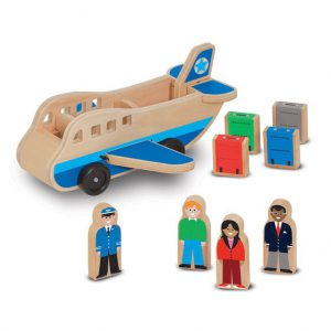 Set de joaca Avion cu pasageri Melissa and Doug-0