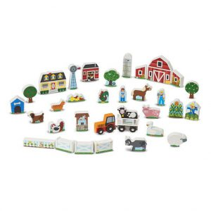Figurine din lemn Ferma Melissa and Doug-2666
