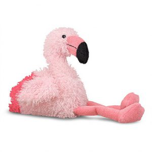 Pasare Flamingo din plus Melissa and Doug-0